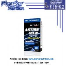 ACTION PRO MEN X 100 TABLETAS (MULTIVITAMÍNICO HOMBRE)