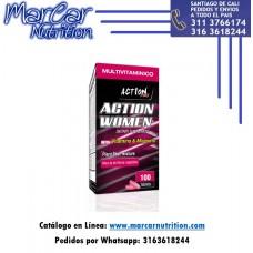 ACTION PRO WOMEN X100 TABLETAS (MULTIVITAMÍNICO MUJER)