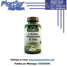 CALCIO MAGNESIO & ZINC X 100 TAB