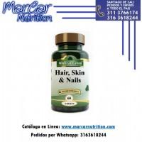 HAIR, SKIN & NAILS (Pelo Piel y Uñas) X 60 TABS