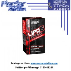LIPO 6 BLACK ULTRACONCETRADO X 60 CAPS