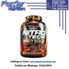 NITRO TECH 100% WHEY GOLD X 5.5 LBS