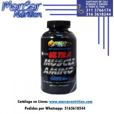ULTRA MUSCLE AMINO 4800 MG X 300 TABS