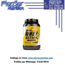100 % WHEY ACTION X 2 LBS