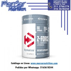 Z FORCE (ZINC - MAGNESIO - VITAMINA B6) X 90 CAPS